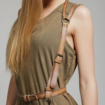 SALE PRICE! Leather harness women, body harness, harness belt, harness vest