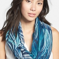 Women's Nordstrom Floral Print Infinity Scarf