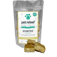 CBD Dog Treats – Hemp Oil Edibites with Peanut Butter & Banana
