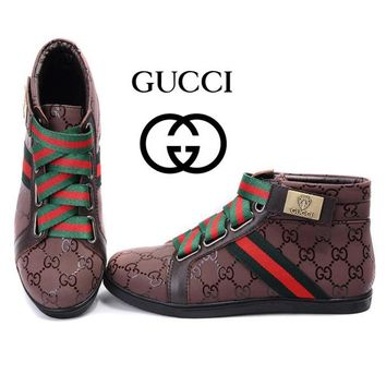 Gucci Women's Fashion Cool Edgy Casual Shoes