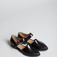 Totokaelo - Carven Flat Leather Shoe - $287.00
