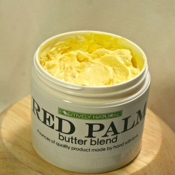 Natural Body Butter & Hair Moisturizer- Red Palm Butter Blend