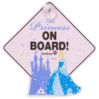 Disney Sparkle Princess Little Princess on Board Sign