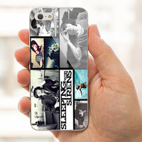 Sleeping with Sirens Collage For iPhone 4/4s/5/5s/5C case,Samsung Galaxy S3/S4 case.