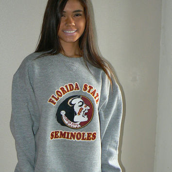 Vintage Rare Florida State Seminoles Sweatshirt by Russell Athletic size XL