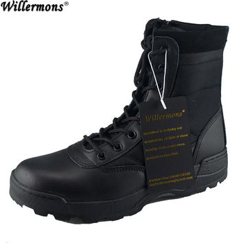 US Army Women's Military Desert Camouflage Combat Tactical Boots Women Outdoor Hiking Boots Botas Mujer Chaussures Femme