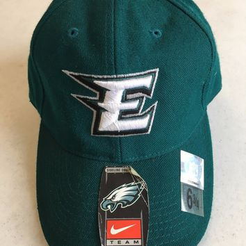 RETRO NIKE PHILADELPHIA EAGLES GREEN FITTED HAT SHIPPING!!