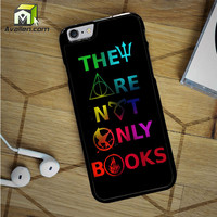 Divergent Hunger Game Harry Potter Book Quotes iPhone 6S Case by Avallen