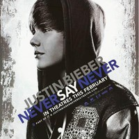 Justin Bieber Never Say Never Poster 22x34