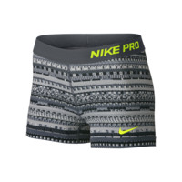 "Nike Pro 3"" 8 Bit Women's Training Shorts"