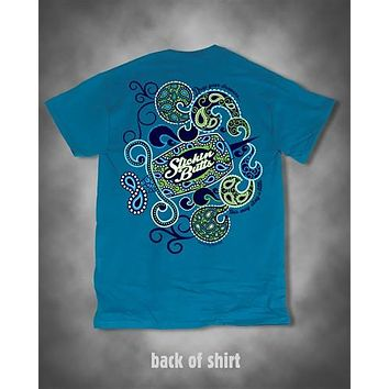 Sweet Thing Funny Nurse Stickin Butts Paisley Shot Girlie Bright T-Shirt