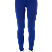 All Day Leggings Basic in Royal Blue