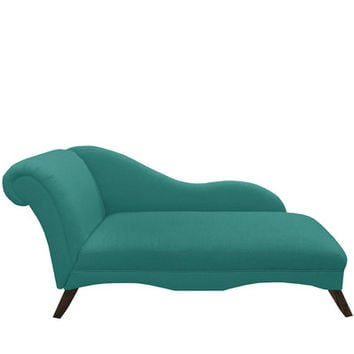 Alcott Hill Linen Chaise Lounge