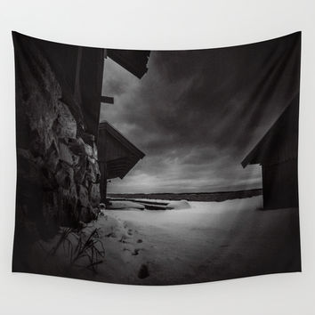 Frozen in time Wall Tapestry by HappyMelvin