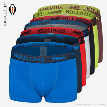 Cotton Sexy Underwear Boxers Fashion Men Pants Underwear Panties Shorts Boxer Soft Breathable underpants Male Solid