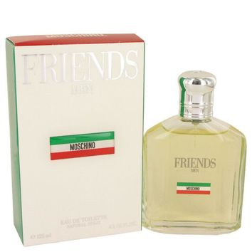 Moschino Friends for Men by Moschino Eau de Toilette Spray 4.2 oz only $49.95 at https://www.cosmic-perfume.com
