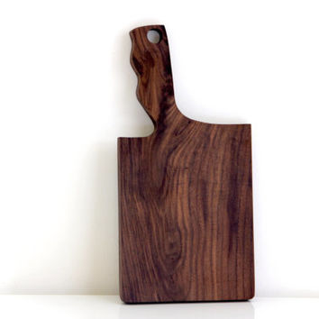 Walnut Serving Board + Cutting Board + Cheese Board + Charcuterie Board
