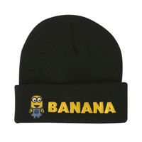 Minion Banana Watchman Beanie