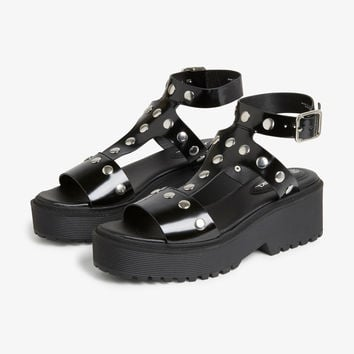 Monki | Shoes | Studded gladiator sandals