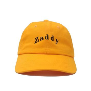 Zaddy Dad Hat (Yellow)
