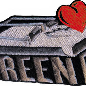Green Day Iron-On Patch Mouse Trap Logo
