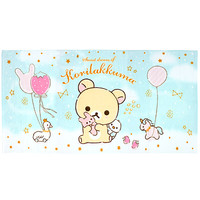 Buy San-X Sweet Dream of Korilakkuma Bunny Hug Blue Bath Towel at ARTBOX