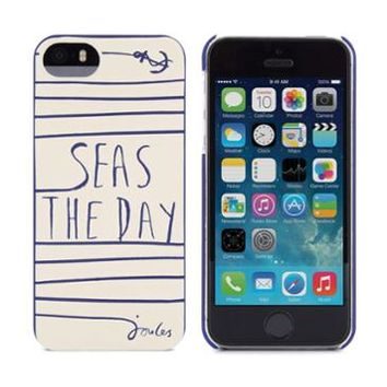 Cream Seas Iphone5case iPhone 5 Case , Size One Size | Joules UK