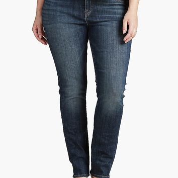 Lucky Brand Emma Straight Womens Straight Jeans - Tiburon