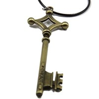 Attack on Titan Shingeki No Kyojin Eren's Key Cosplay Props Necklace