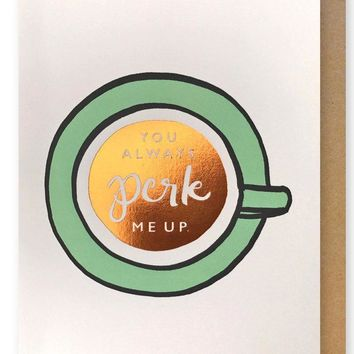 Coffee Friendship Card