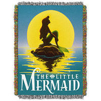 Disney Princess The Little Mermaid Poster Tapestry Throw - Ariel