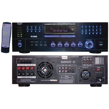 Pyle Home 1000-watt Am And Fm Receiver With Built-in Dvd