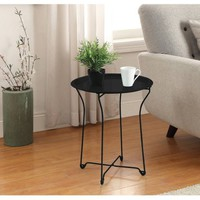 Mainstays Metal Tray Side Table, Multiple Colors - Walmart.com