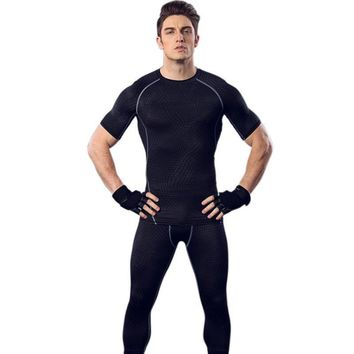 Strong Men Compression Shirt