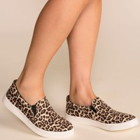 Glen Leopard Slip-On Sneakers