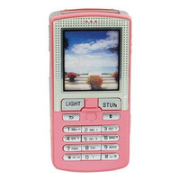 Pretender Cell Phone Stun Gun 4.5 Million Volt Pink