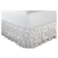 Greenland Home Fashions Multi-Ruffle Bed Skirt | Wayfair