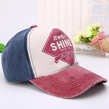 Unisex Cotton Snapback Colorful Baseball cap women Adjustable Letter Casual Summer hat girl Hip hop cap Bone feminino
