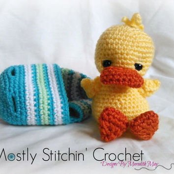 Easter Buddy-Ducky; CROCHET PATTERN; PDF