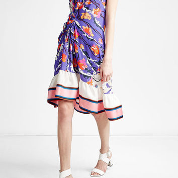Printed Silk Dress - Emilio Pucci | WOMEN | US STYLEBOP.COM