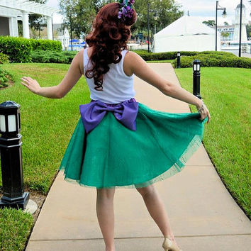 Mermaid Ariel Inspired Skirt