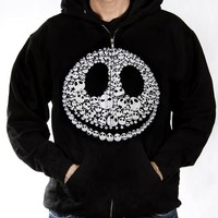 Nightmare Before Christmas Hoodie - Faces