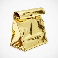 Gold Paper Bag by Yes I'm French