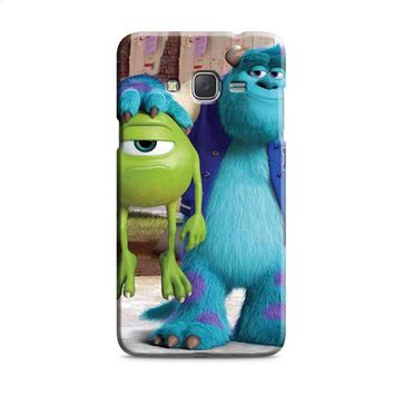 Monsters Inc sulley holding mike Samsung Galaxy J7 2015 | J7 2016 | J7 2017 Case