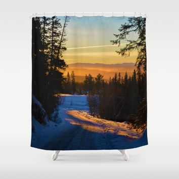 Since I Last Saw You Shower Curtain by Gallery One