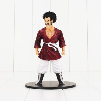 19cm Dragon Ball Z Figure Toy Hercule Mark Mr. Satan Martial Arts Champion Videl Father Anime DBZ Collectible Model Doll