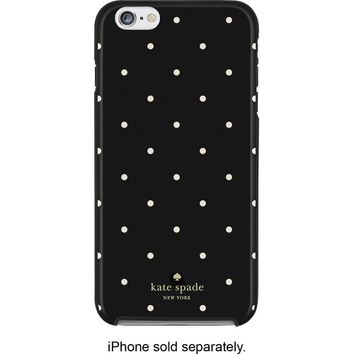 kate spade new york - Larabee Dot Hybrid Hard Shell Case for Apple® iPhone® 6 Plus and 6s Plus - Black/Cream