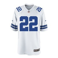 Nike Dallas Cowboys Emmitt Smith Game NFL Replica Jersey