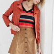 Glamorous Faux Suede A-Line Skirt - Urban Outfitters