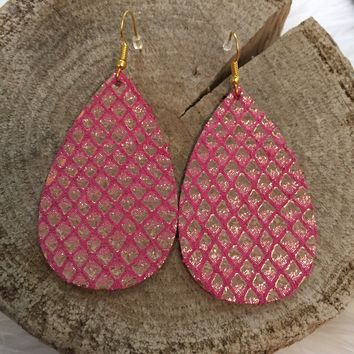 Ariel Leather Earrings